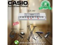 CASIO LK-280 Lighting Portable Keyboard Premium Bundle (LK280 / LK 280)