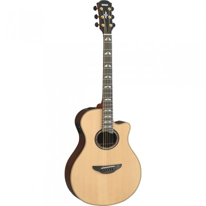 "Yamaha APX1200II 41"" Solid Spruce Top Acoustic Electric Guitar With Pickup Natural (APX1200)"