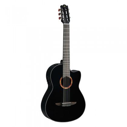 Yamaha NCX700 39'' CG Cutaway Solid Spruce Acoustic Electric Guitar Black (NCX 700)
