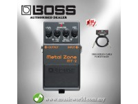Boss MT-2 Metal Zone Guitar Effects Pedal (MT2 / MT 2)