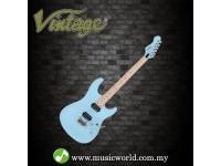 VINTAGE GUITAR V6M24 REISSUED ELECTRIC GUITAR ~ LAGUNA BLUE