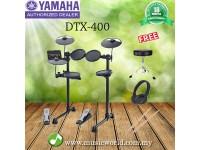 YAMAHA Digital Drum DTX400K Electronic Drum Kit