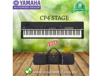 Yamaha CP4 Stage Piano Synthesizers with Natural Wood Keys (CP 4)
