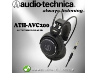Audio-Technica ATH-AVC200 SonicPro® Over-Ear Headphone (AVC200)