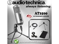 Audio Technica ATR2500-USB Condenser USB Microphone (ATR2500 USB)