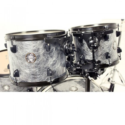 Dixon Drum Set Black Widow Drum Kit