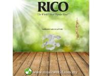 RICO Ligature Soprano Saxophone Mouthpiece Silver Plated