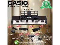 CASIO CT-X700 PORTABLE KEYBOARD ELECTRIC KEYBOARD PREMIUM BUNDLE (CTX700 / CT X700 / CTX 700)
