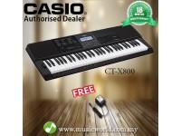 CASIO CT-X800 PORTABLE KEYBOARD ELECTRIC KEYBOARD (CTX800 / CT X800 / CTX 800)