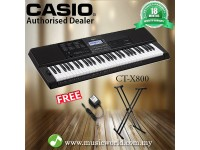 CASIO CT-X800 PORTABLE KEYBOARD ELECTRIC KEYBOARD With STAND (CTX800 / CT X800 / CTX 800)
