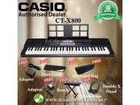 CASIO CT-X800 PORTABLE KEYBOARD ELECTRIC KEYBOARD PREMIUM BUNDLE (CTX800 / CT X800 / CTX 800)