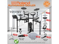Roland TD-17KV Digital Drum V-Drums V Drum Bundle (TD 17KV / TD17KV)