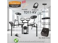 Roland TD11KV Digital V-Drum V-Compact Series Full Package(TD-11KV / TD 11KV)