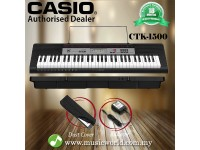 CASIO CTK-1500 Portable Keyboard Electric Piano Beginner Set (CTK1500 / CTK 1500)