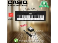 CASIO CTK-3200 Portable Keyboard Electric Piano (CTK3200 / CTK 3200)