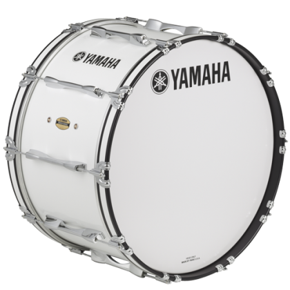 Yamaha MB-8326F 26 Inch Field Corp Series Marching Bass Drum with Drum Stick and Carrier (MB8326F MB 8326F)