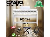 CASIO PX-760 Privia 88 Key Digital Piano White (PX760 / PX 760)