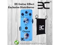 ENO EX CH-2 Chorus Electric Guitar Effect Pedal True Bypass (CH2 / CH 2)
