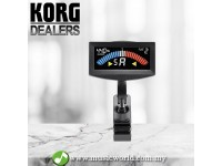 Korg AW-4G Black Pitchcrow Chromatic Guitar Bass Clip-on Tuner ( AW4G / AW 4G )