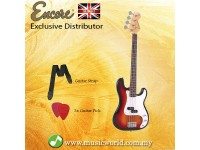 Encore E4SB Bass Guitar Sunburst
