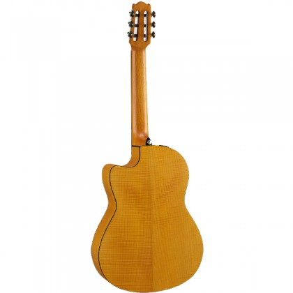 [Indent Order] Yamaha NCX1FM Acoustic Electric Nylon String Classical Guitar with Onboard Electronics Pickup (NCX1 FM)