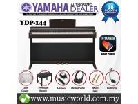 Yamaha Arius YDP-144 Rosewood 88 Key Digital Piano Complete Bundle (YDP144 / YDP 144)