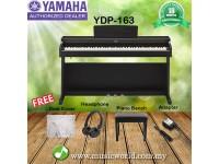 Yamaha YDP-163 Arius 88 Key Digital Piano Complete Bundle (YDP163 / YDP 163)