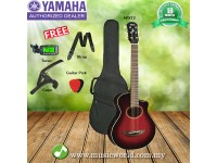 Yamaha APXT2 Red Burst Acoustic Guitar 3/4 Travel Acoustic Guitar