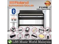 Roland F-140R 88 key Digital Home Piano Bundle Black (F140R F140 F 140 R)
