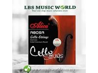 Alice A805A Cello String Set Steel Core Nickel Chromium Alloy Wound Cello Strings A D G C