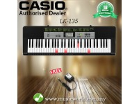 CASIO LK-135 61 Key Self Learning Lighting Portable Keyboard (LK135 LK 135)