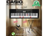 CASIO LK-265 61 Key Self Learning Lighting Keyboard With Stand ( LK265 LK 265)