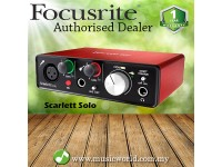 FOCUSRITE Scarlett Solo USB 2.0 Audio Interface Version 2 (2nd Generation)