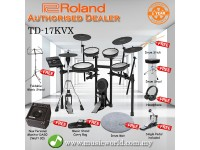 Roland TD-17KVX Digital Drum V-Drums V Drum With Amplifier (TD 17KVX / TD17KVX)