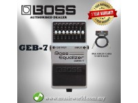 Boss GEB-7 Bass Equalizer Guitar Effect Pedal (GEB7 / GEB 7)