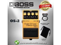 Boss OS-2 OverDrive Distortion Guitar Effect Pedal Over Drive (OS2 / OS 2)