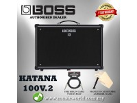 BOSS Katana 100 Guitar Amplifier Version 2 100/50/0.5 Watt (KTN-100)