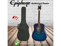 Epiphone PRO-1 PLUS Acoustic Guitar Transparent Blue (PRO 1)