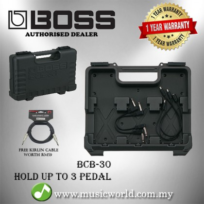 Boss BCB-30 Pedal Board Guitar Effect Pedal Case (BCB30 / BCB 30)