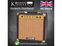 Kinsman KAA25 25 W Amp Acoustic Guitar Amplifier with Chorus