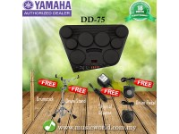 Yamaha DD-75 Portable Digital Drums Electronic Drum Kit with 8 Pads (DD75 / DD 75)