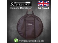 Kinsman KDCB Deluxe 22 inch Cymbal Bag with Padded Drum Stick Pocket