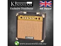 Kinsman KAA15 15 W Acoustic Guitar Amplifier Guitar Amp with Chorus