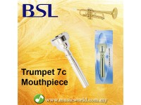BSL 7C Trumpet Mouthpiece Silver Plated Mouth Piece Yamaha Pearl Jupiter Bach Allora