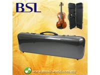 BSL Violin Hard Case Carbon Fiber Ultra Light Violin Bag With Humid Meter