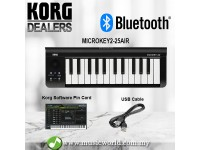 Korg microKEY Air 25 Midi Key Bluetooth Keyboard  Electric Key (MicroKey 2 Microkey2)