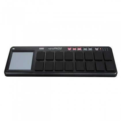 Korg nanoPAD 2 Midi USB Controller Black With Software Slim Line (Nano Pad NanoPad2)