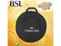 BSL Cymbal Bag 10mm Carrying Cymbal Bag for Drum Set Padded Cymbal bag