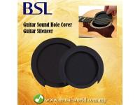 BSL Guitar Sound Hole Cover Guitar Silencer Soundhole Block Sound protector