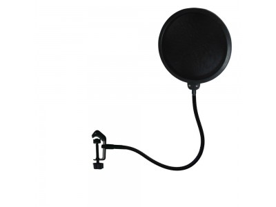 BSL Double Layer Pop Filter Mic Filter Studio Microphone windscreen Mic Mask Block Shield